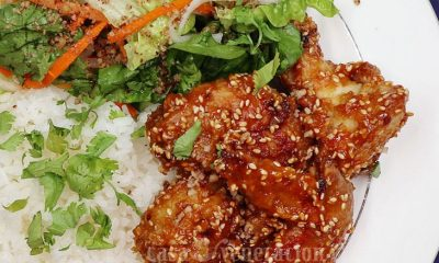 Make This Baked Peanut Sesame Chicken for Lunch this Weekend!