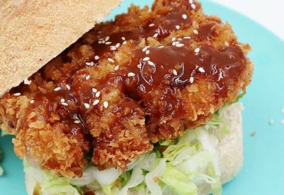 Crispy Cajun Pork Chop Sandwich Recipe