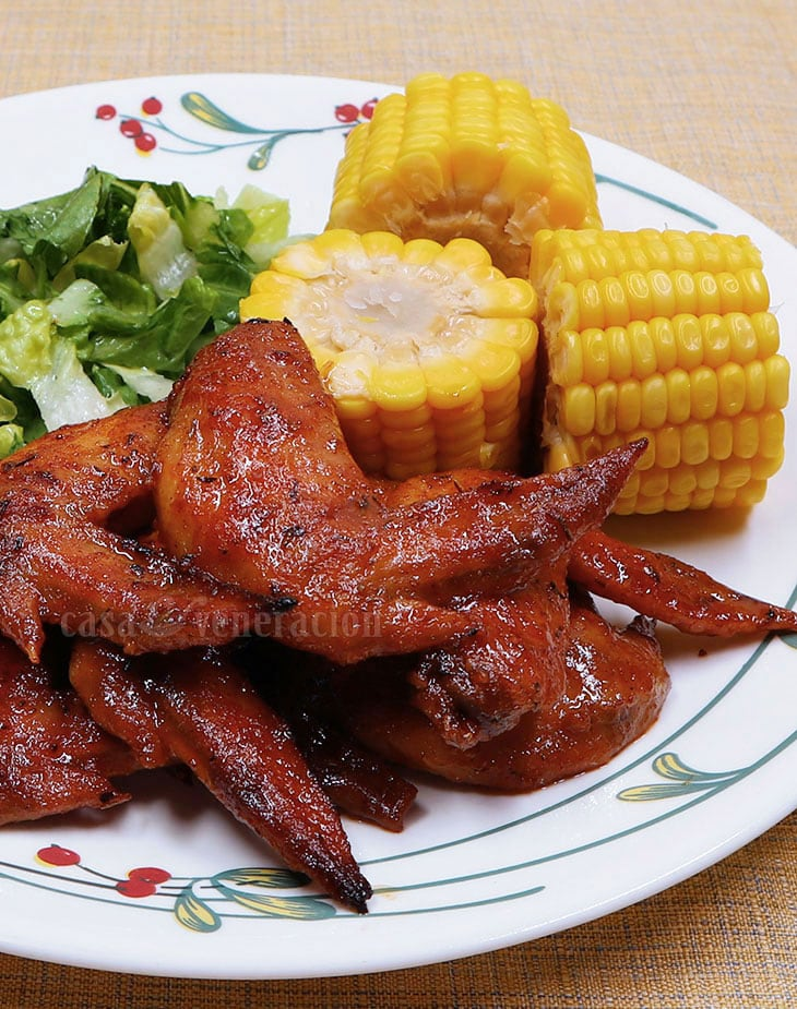 How to cook baked Cajun chicken wings