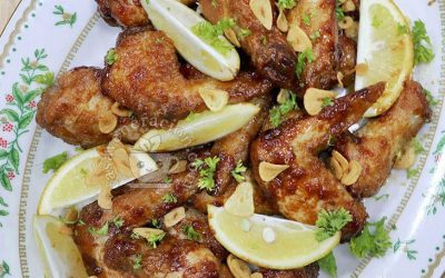 Party-perfect Soy Lemon Chicken Wings Recipe