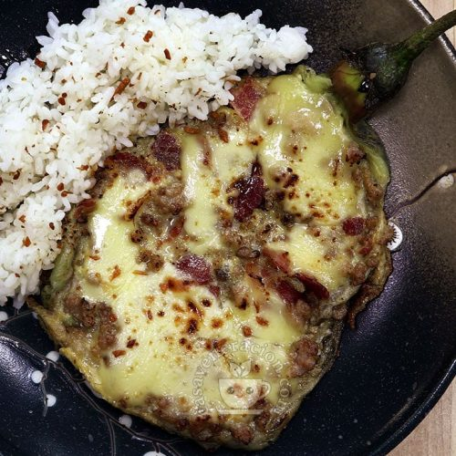 Eggplant Torta with Bacon and Cheese Recipe