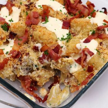 Thanksgiving Side Dish: Ultra Cheese-y Potato and Bacon Casserole Recipe