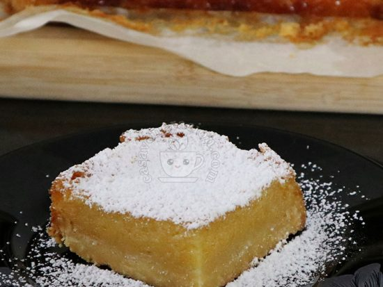Lemon Pineapple Squares Recipe