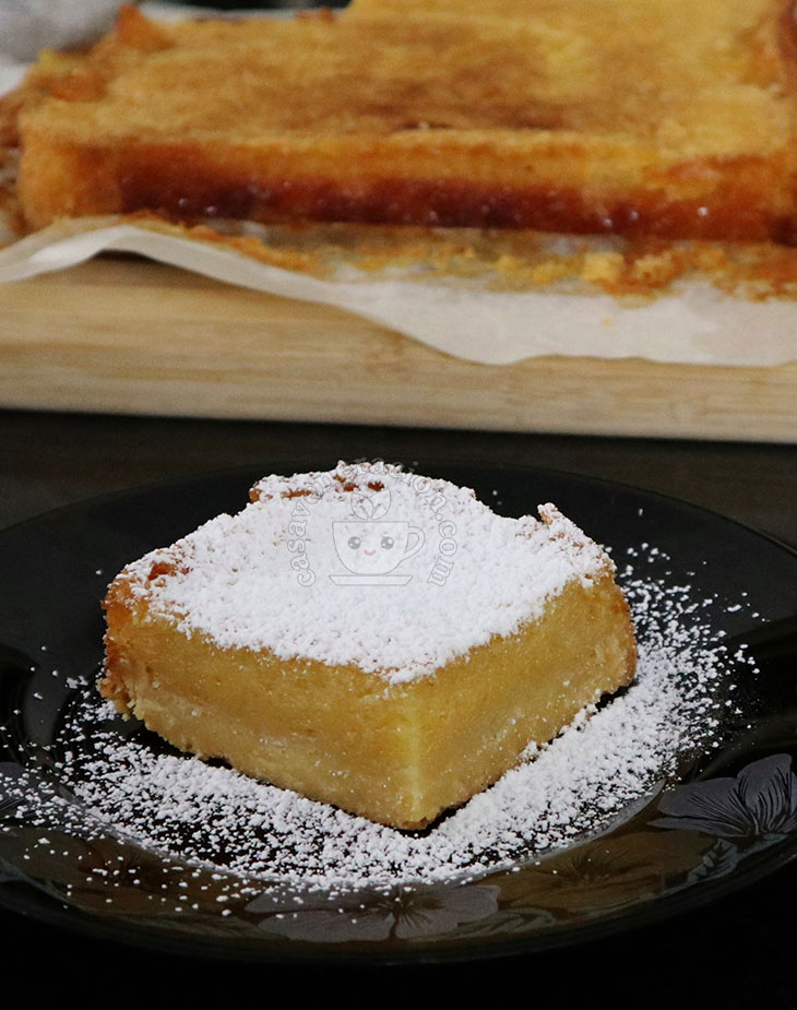 Kalamansi and Pineapple Squares Recipe