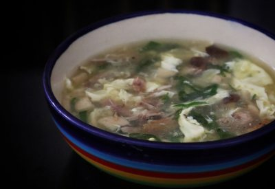 How to Cook Leftover Roast Duck Egg Drop Soup