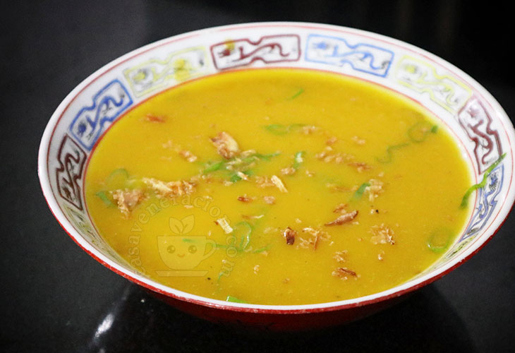 Squash (calabaza) soup recipe