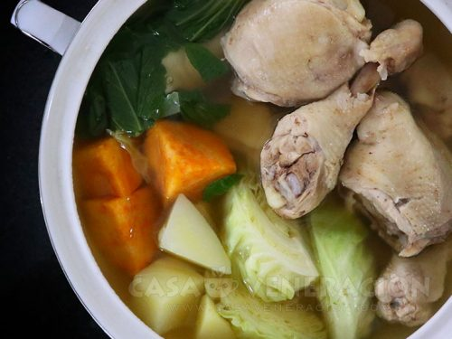 Nilagang Manok (Chicken and Vegetable Soup)