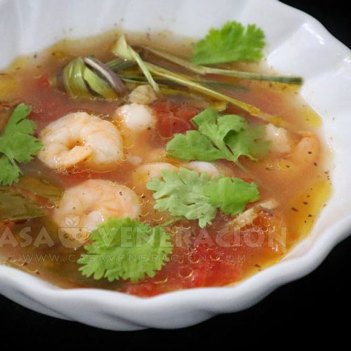 Hot and Sour Shrimp Soup a la Tom Yum