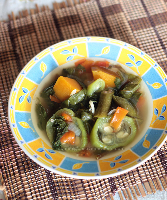 Laswa, a vegetable soup | casaveneracion.com