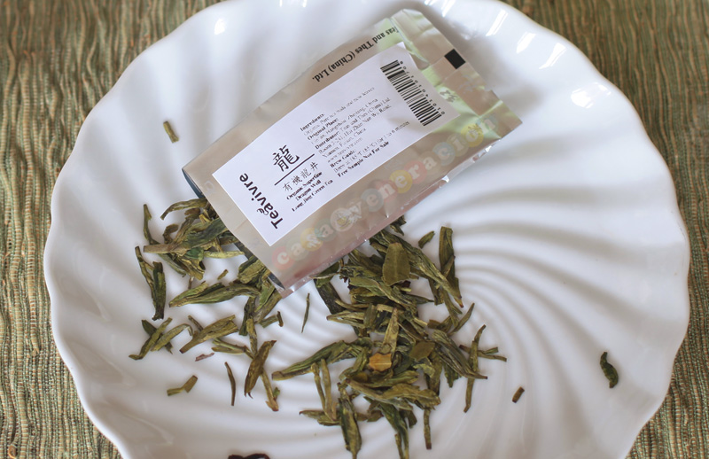 Teavivre's Premium Dragon Well Long Jing Green Tea