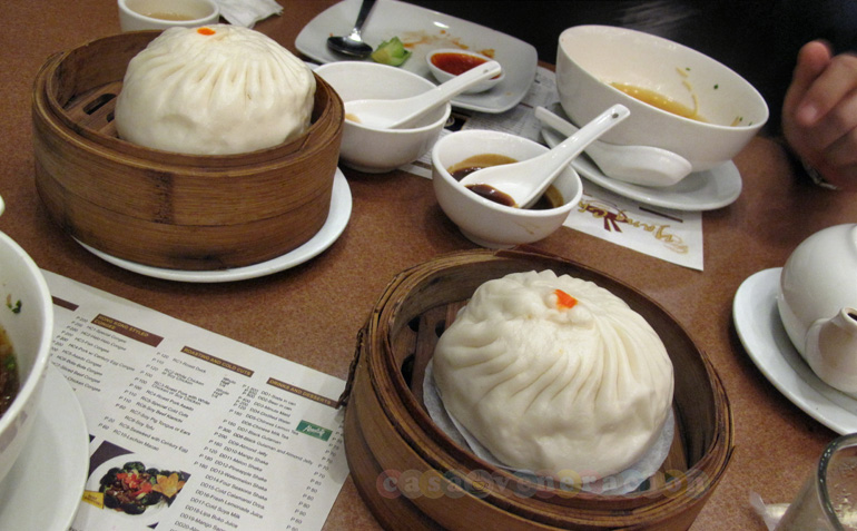Special siopao at Yang Chow Dimsum Teahouse